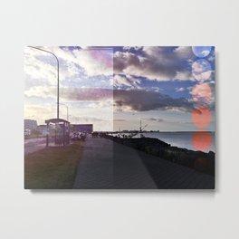 The Sun Voyager / Sólfar in Reykjavík Metal Print