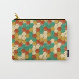 Honey Comb Baroque Hive Carry-All Pouch