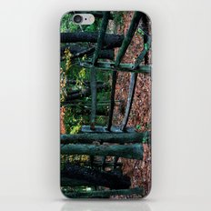 Forest Fence iPhone & iPod Skin