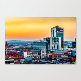 City Tower Manchester Canvas Print