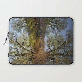 Botanical Reflection Landscape Laptop Sleeve