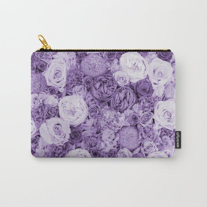 bouquet ver.purple Carry-All Pouch