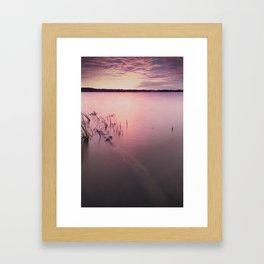Staples Lake Framed Art Print