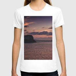 sunset in gumusluk T-shirt