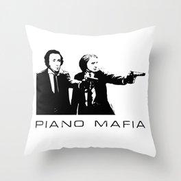 Piano Mafia - Chopin, Liszt Throw Pillow