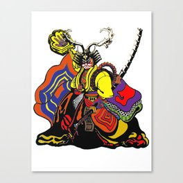 shogun chop Canvas Print