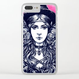 Young Witch Clear iPhone Case