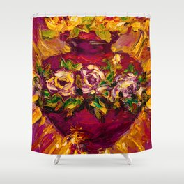 Sacred love II Shower Curtain