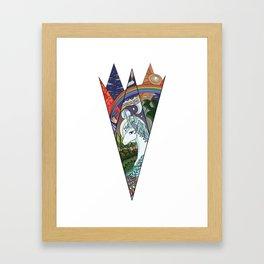 Amalthea the Last Framed Art Print