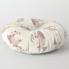 Whimsical Orang Utan Floor Pillow