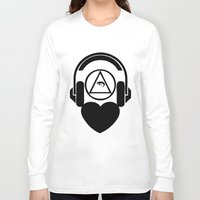 code Long Sleeve T-shirts featuring CODE by LoveArtMusic®