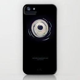 ocean mandala... tusk shells, massachusetts sand iPhone Case