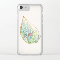 Terrarium I Clear iPhone Case