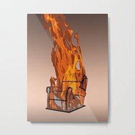 Armchairageddon! Metal Print
