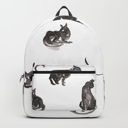 13 Lucky Black Cats Backpack