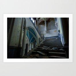 Le Rideau // The Curtain Art Print