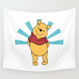 pooh  Wall Tapestry