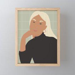 Fia Framed Mini Art Print
