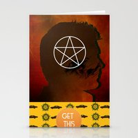 dean winchester Stationery Cards featuring dean winchester by Papa-Paparazzi