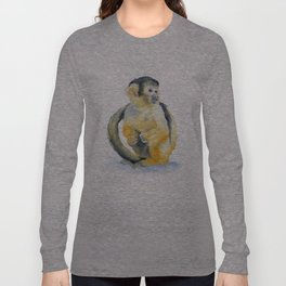 Sqirrel Monkey Long Sleeve T-shirt