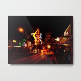 Vegas Nightlife - Las Vegas Nevada Metal Print