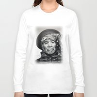 mexico Long Sleeve T-shirts featuring MEXICO by MiroArt