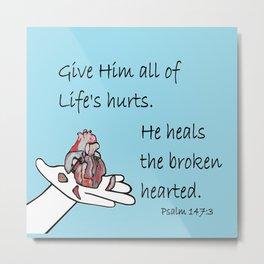 Healer of Hearts Metal Print