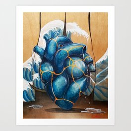 Broken but still good Art Print