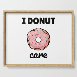 I Donut Care Serving Tray