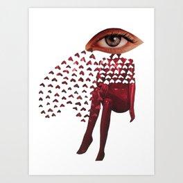 Valentine Hangover Art Print