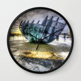 Merchant seafarer's war memorial 2 Wall Clock