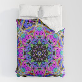 Drawing Floral Doodle G4 Comforters