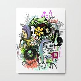 """and Love"" Metal Print"