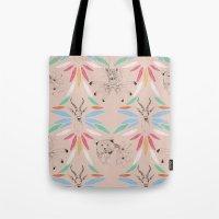 safari Tote Bags featuring Safari by Laura Braisher