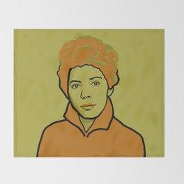 Lorraine Hansberry Throw Blanket