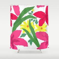 Floral Chorus1  Shower Curtain