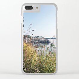 You'll Find Me at the Lake, Wisconsin Clear iPhone Case