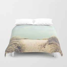 The Way To The Beach Duvet Cover