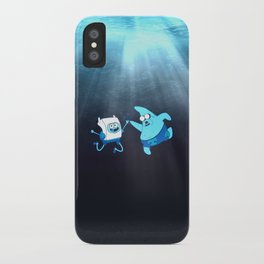 SpongeFinn AdventurePants iPhone Case