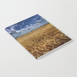 Amber Waves Of Grain Notebook