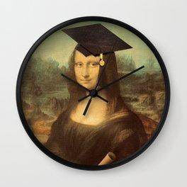 Mona Lisa Graduate Wall Clock