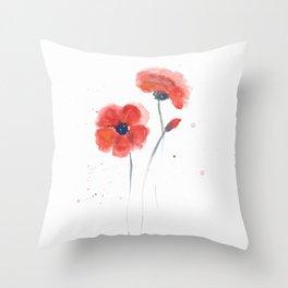 Watercolor 03 Throw Pillow