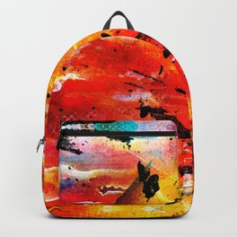 Abstract art #1 Backpack