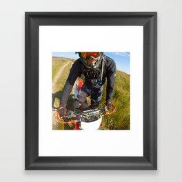 Honda CRF-X Enduro Framed Art Print