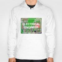 engineer Hoodies featuring Electrical Engineer by EEShirts