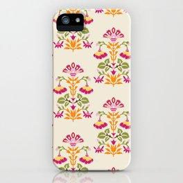 Indie Art Collection, ethnic prints and patterns iPhone Case
