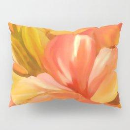 hibiscus flower-Oil painting Pillow Sham