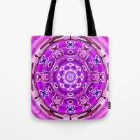 carousel Tote Bags featuring Carousel by Elena Indolfi