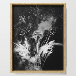 Seattle Space Needle Celebration Serving Tray