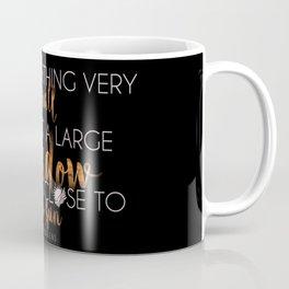Close to the Sun - Air awakens Quote (light) Coffee Mug